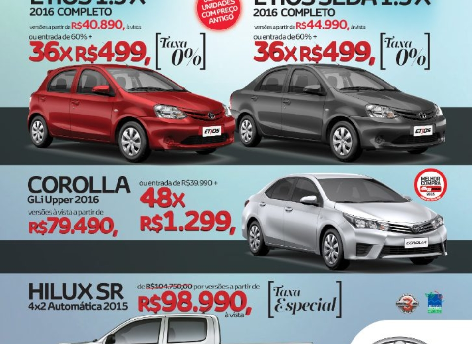 Thai Toyota - Feirão Irresistível - Folder